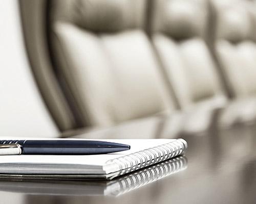 sala de espera e reuniões